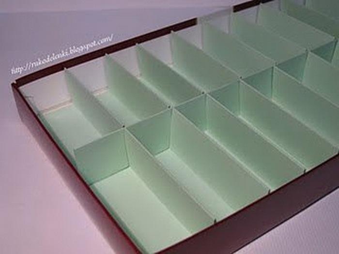 Как сделать коробку для хранения ниток своими руками