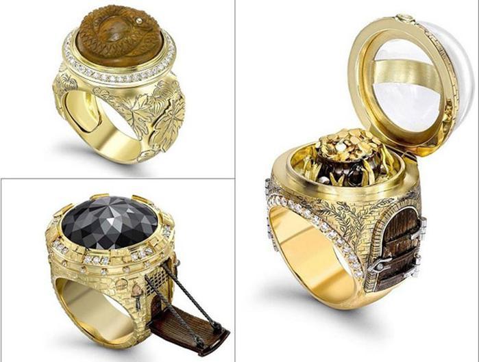 Кольца со «сказочным» дизайном