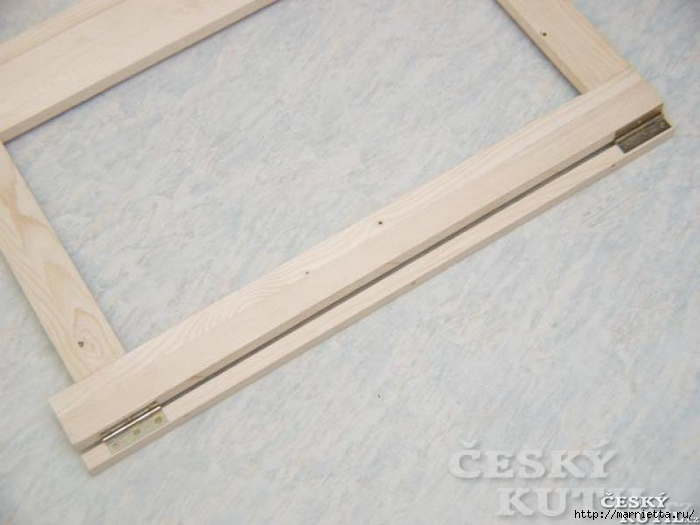 Складной столик своими руками для маленькой кухни (12) (700x525, 179Kb)