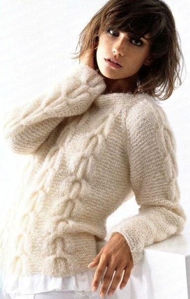 <свитер из мохера - Самое