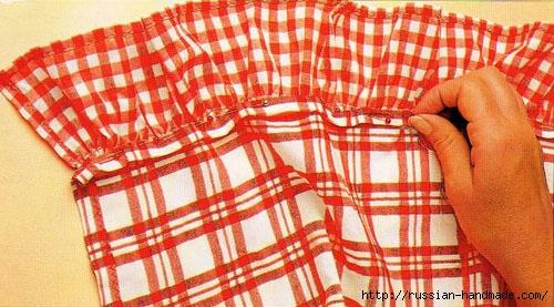 Шьем сами кухонные занавески на петлях с воланами (3) (500x277, 151Kb)