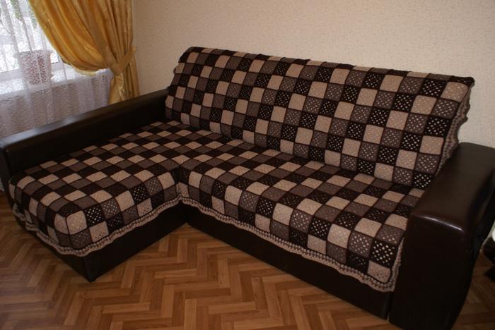 диван из квадратов своими руками