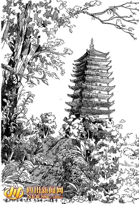 Рисунки на ручках в китае