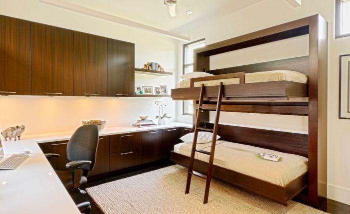 двухъярусные кровати в интерьере спальни 1 (700x429, 206Kb)