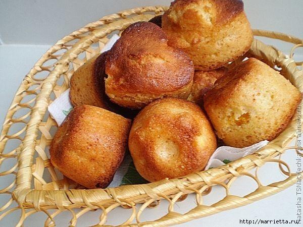 Рецепт медовых кексов с апельсином (4) (600x450, 185Kb)