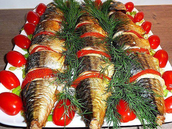 Холодные закуски из рыбы. - Страница 2 120818568_SKUMBRIYA_ZAPECHYONNAYA