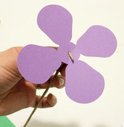 Детское творчество к 8 марта. Тюльпаны из бумаги (2) (400x412, 101Kb)