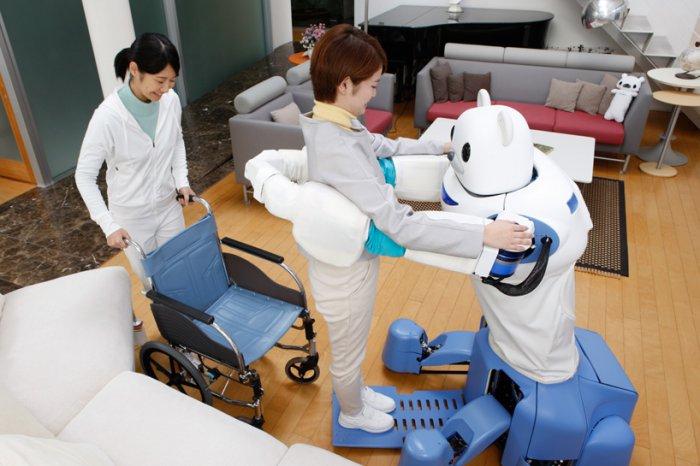 японские роботы RIKEN ROBEAR 2 (700x466, 246Kb)
