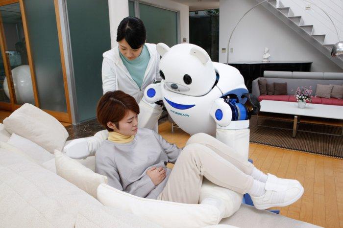 японские роботы RIKEN ROBEAR 4 (700x466, 200Kb)