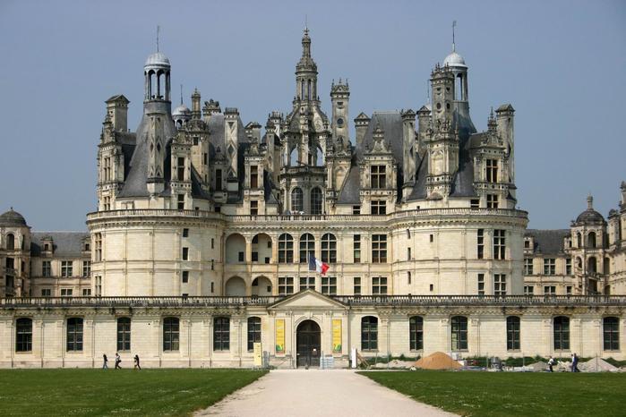 замок шамбор франция 3 (700x466, 342Kb)