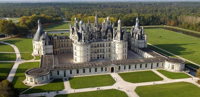 замок шамбор франция 6 (700x341, 363Kb)