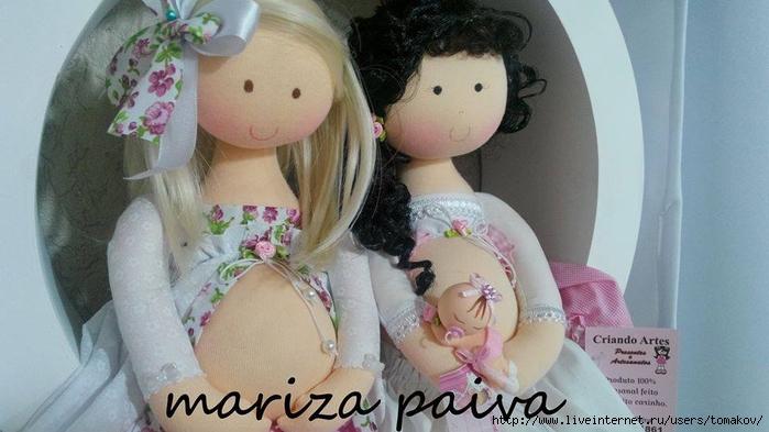 Беременная кукла тильда своими руками