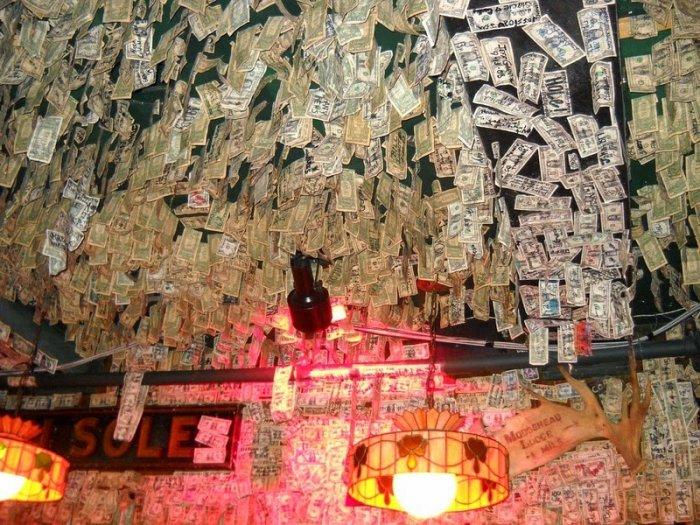 McGuire's Irish Pub долларовый интерьер ирландского паба 4 (700x525, 470Kb)