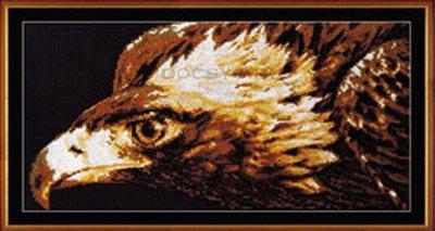 схема вышивки Взор орла (400x213, 96Kb)