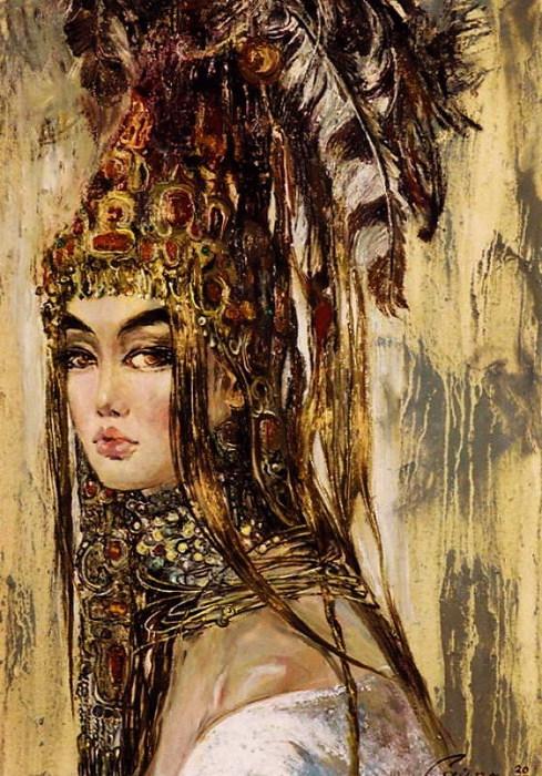 Красавица Алтын-шаш. 2003 (489x700, 144Kb)