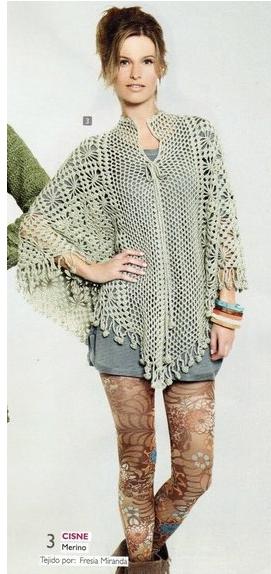 poncho tunica tejida patrones crochet (271x574, 285Kb)