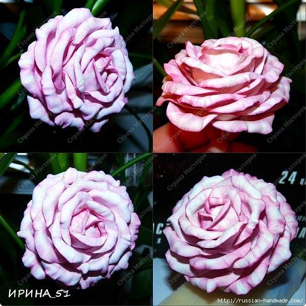Очень красивые розы из фоамирана. Мастер-класс (2) (600x600, 241Kb)