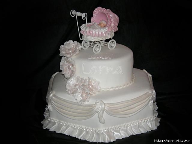 Марципановые торты в честь новорожденного (45) (640x480, 75Kb)