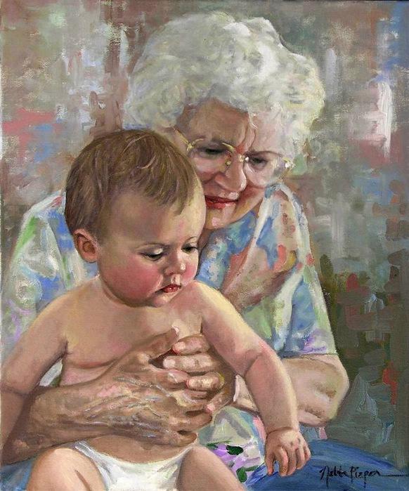 внук ласкает бабушке половой орган видо