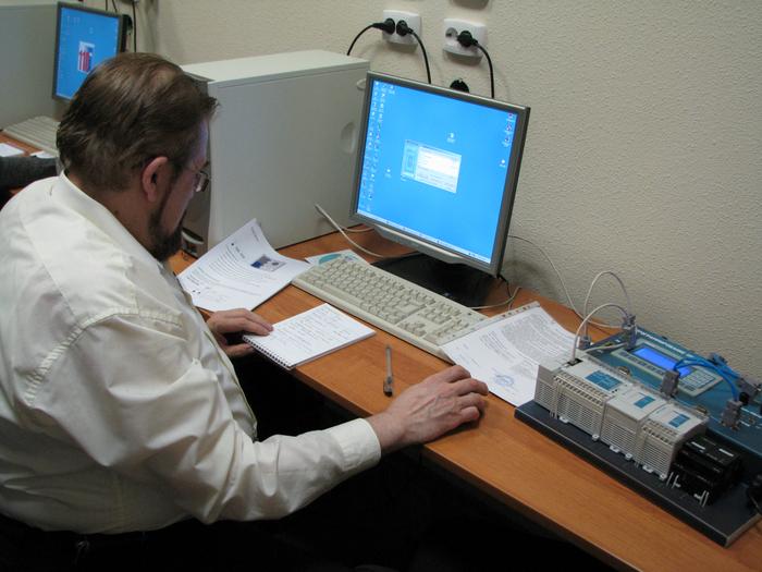 Порядок работы с программируемыми логическими контроллерами (ПЛК)