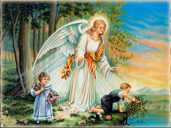 Ангел-Хранитель и дети 30