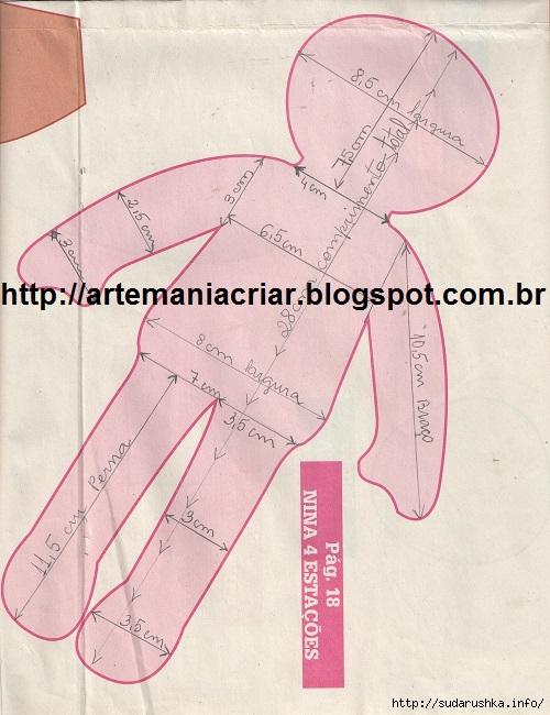 Текстильная кукла тильда своими руками выкройки - Russkij-Litra.ru