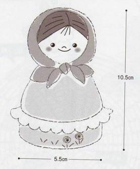 Куколки МАТРЕШКИ амигуруми крючком. Схемы (4) (278x335, 56Kb)