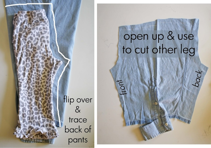 Что можно сшить из старого брюки 384