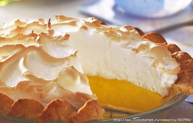 Лимонный пирог с безе от гордона рамзи рецепт