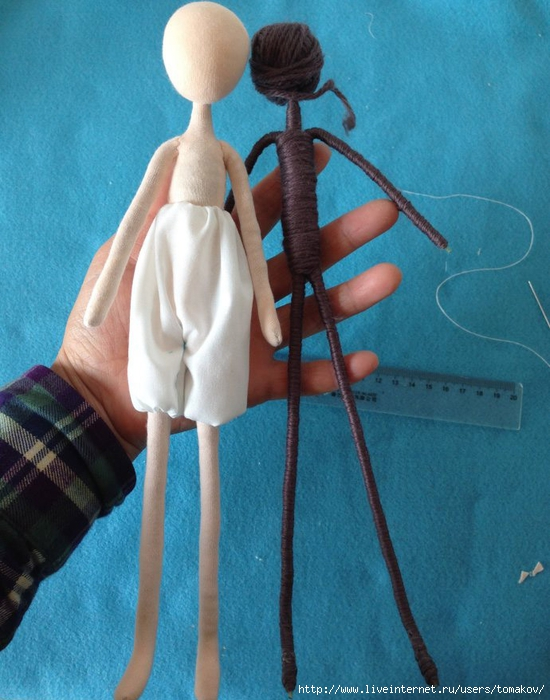 Каркасные куклы крючком своими руками мастер класс