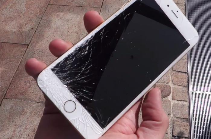 Внимание! Некачественное стекло в iPhone 6.