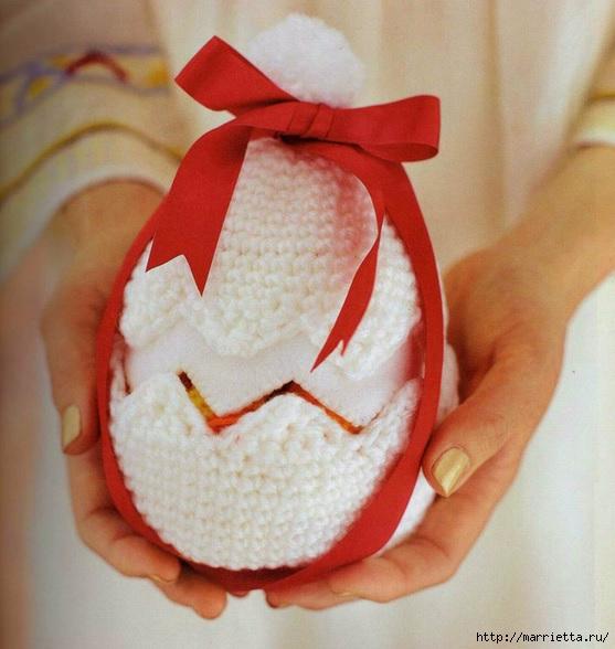 Цыплята амигурами в яйце крючком. Схемы (2) (557x588, 179Kb)