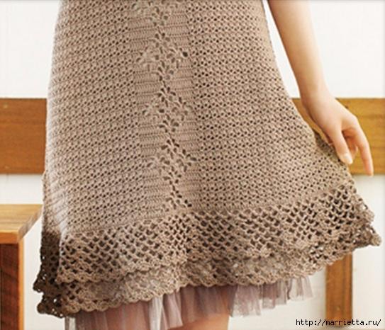 Летнее платье крючком. Схемы (3) (543x466, 182Kb)