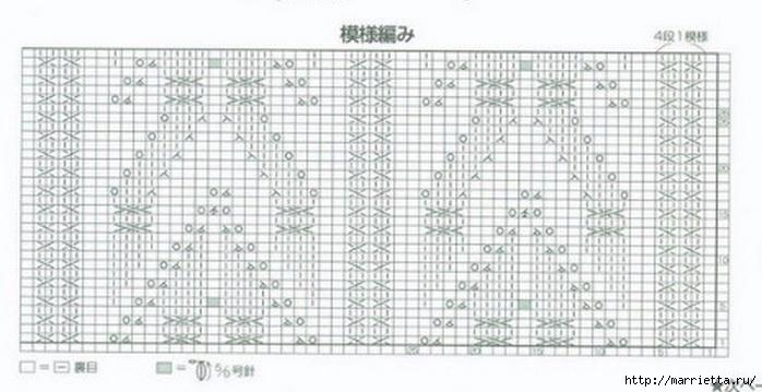 Жилет и летняя жакетка спицами по одной схеме (5) (698x359, 152Kb)