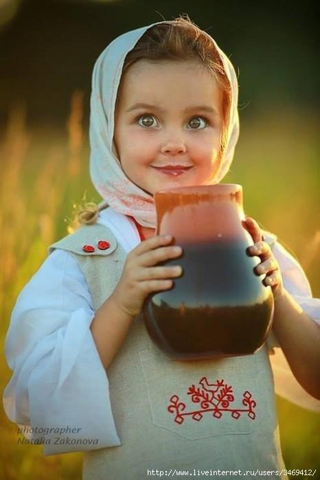 славянская девочка  2 (466x700, 134Kb)