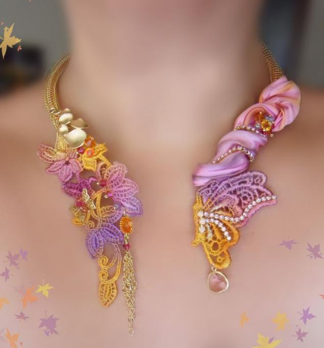 Восхитительные и женственные украшения в технике шибори - Бижутерия своими руками. Какие материалы для этого необходимы. Мастер-