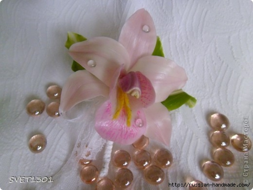 Орхидея цимбидиум из холодного фарфора. Мастер-класс (1) (520x390, 95Kb)