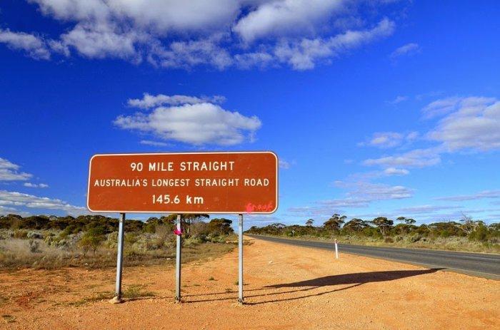 шоссе Eyre Highway австралия 2 (700x463, 269Kb)