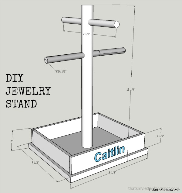 jewelry stand plan (600x635, 92Kb)
