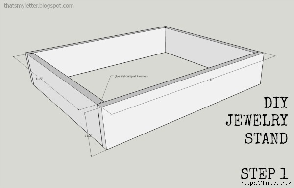 jewelry stand step 1 (600x383, 54Kb)