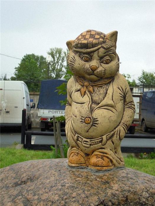 кот на камне (525x700, 380Kb)