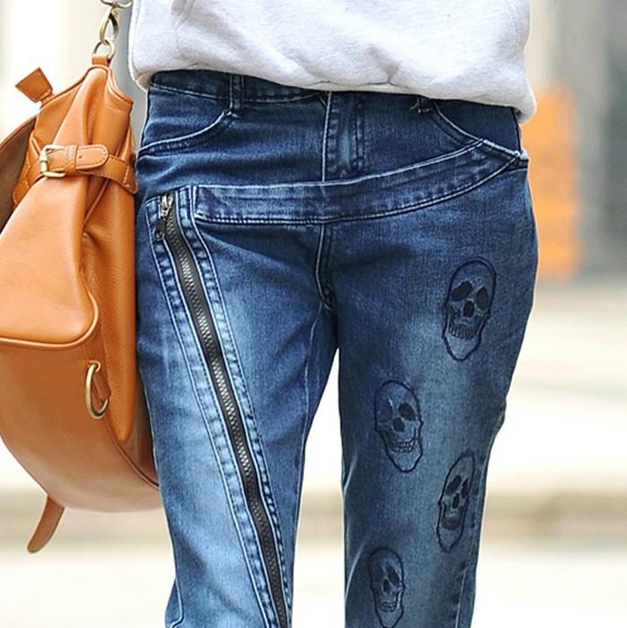Новый-2014-Прибытие-Бесплатная-доставка-большой-размер-Fashion-Denim-Тощий-Карандаш-Брюки-синие-джинсы-женщина-черепа (699x700, 119Kb)