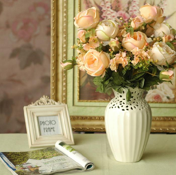 Букеты из искусственных цветов для интерьера фото своими руками