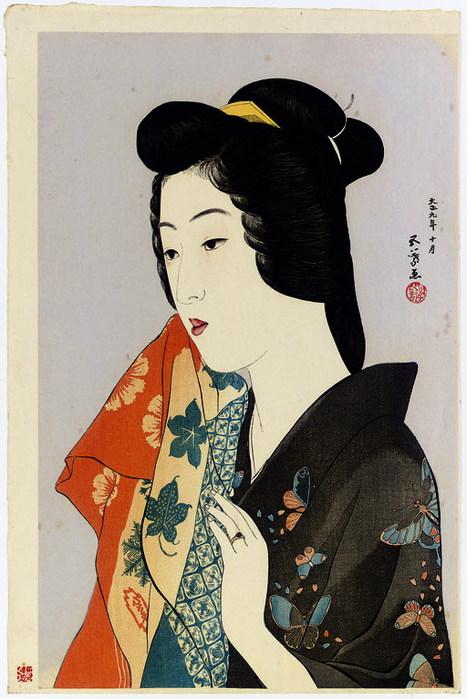 Японский художник голых девок давно