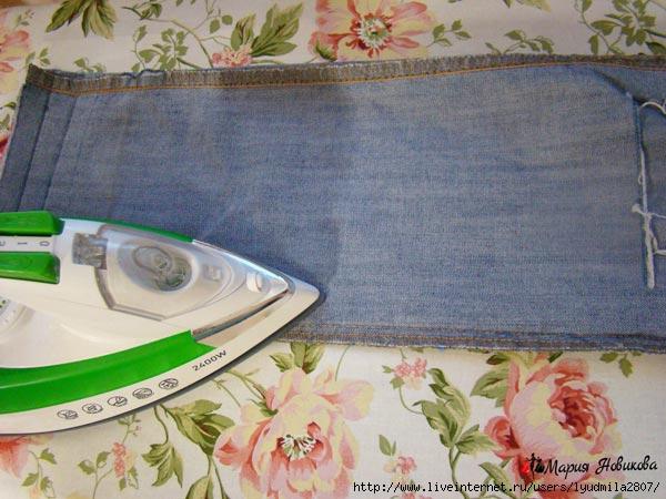 Как сделать старые джинсы модными фото 773
