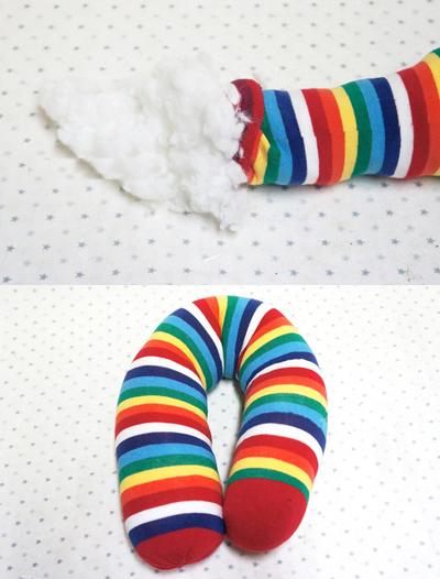 Декоративные подушки КОШКИ из носков (2) (400x526, 232Kb)