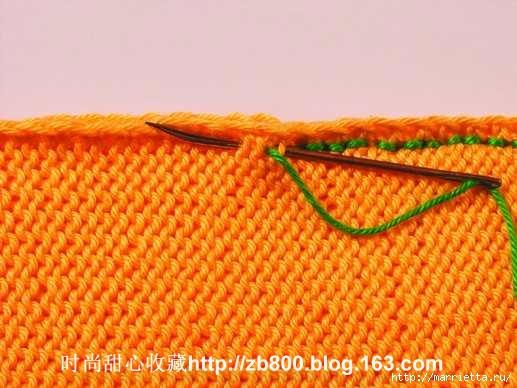 Способы соединения вязаных спицами деталей (7) (517x388, 134Kb)