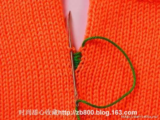 Способы соединения вязаных спицами деталей (23) (517x388, 169Kb)