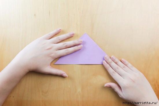 Как сложить тюльпаны в технике оригами (6) (550x367, 79Kb)