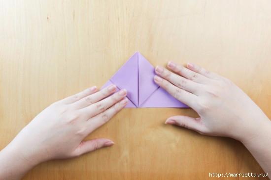 Как сложить тюльпаны в технике оригами (8) (550x367, 79Kb)